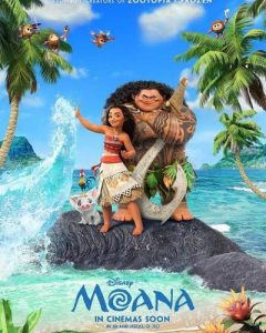 Moana (2016) Disney HD Code