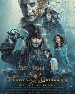 Pirates of the Caribbean Dead Men Tell No Tales Disney HD Code