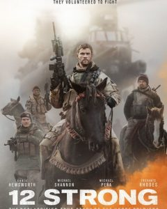 12 Strong UV HDX or iTunes HD Code (via Movies Anywhere)