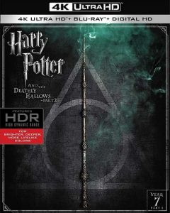 Harry Potter and the Deathly Hallows-Part 2 UV UHD Code