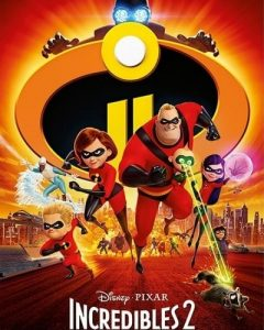 The Incredibles 2 Disney HD Code