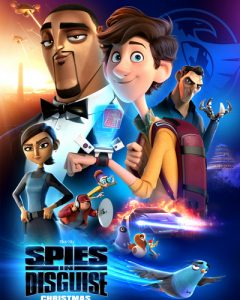 Spies in Disguise HD Code