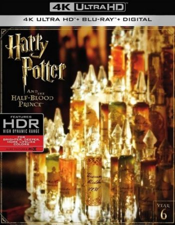 Harry Potter And The Half Blood Prince UV UHD Code