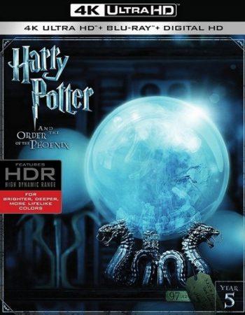 Harry Potter and the Order of the Phoenix UV UHD Code
