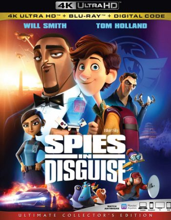 Spies in Disguise UHD Code